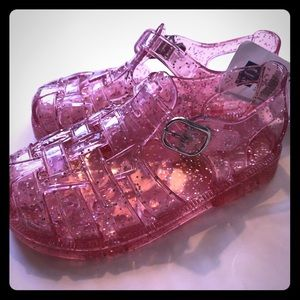 NWT Gap Sparkle Jelly Shoes